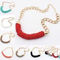 Fashion Women Jewelry Choker Statement Long Chain Pendant Necklace Gift New