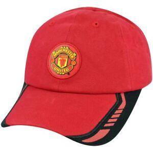 Red-Devils-Manchester-United-English-Premier-Soccer-Futbol-Hat-Cap-Clip-Buckle