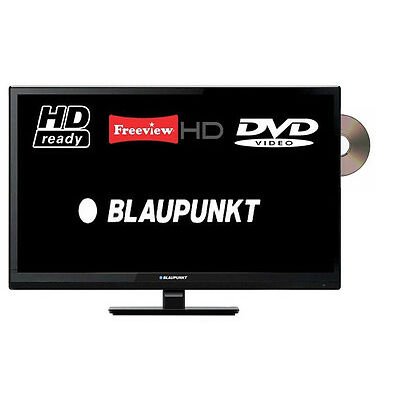 Blaupunkt 24/2070 LED TV HD Ready 720p USB Scart With DVD Combi And Freeview HD