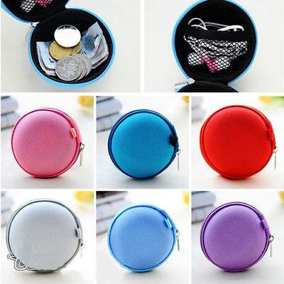 Unisex Women Headset Men Gift Earphone Zipper Coin Purse Key Wallet Pouch Bag