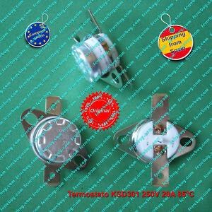 Termostato-1Pz-KSD301-KSD302-250V-20A-85-C-contacto-NC-Switch-Thermostat