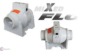 SALE-XFLO100T-Timer-Fan-in-line-Mixed-Flow-4-039-039-100mm-dia-Bathroom-Extractor-Fan