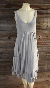 Medium Grigio Gap Ruffle Dress Cotone chiaro Maternity HWW7Tp