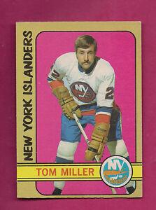 1972-73-OPC-32-ISLANDERS-TOM-MILLER-ROOKIE-VG-CARD-INV-2503