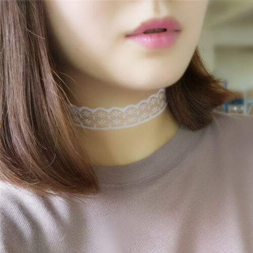 Gothic Black Lace Vintage Choker Collar Necklace Women Retro Punk Jewelry Gift