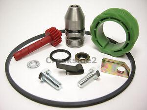 TH350-Speedo-Kit-9-amp-21-Tooth-Sleeve-Housing-Gear-Seal-Retainer-Speedometer