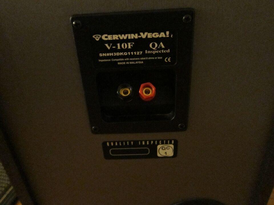 Højttaler, Cerwin Vega, V-10F