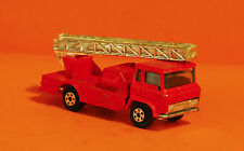 YATMING - FIRE ENGINE & EXTENDING LADDER - VINTAGE DIECAST TOY - NICE SHAPE!!!