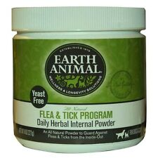 Earth Animal Yeast Free Flea and Tick Internal Powder For Dogs & Cat