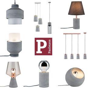 Paulmann-Neordic-Beton-Tisch-und-Pendelleuchten