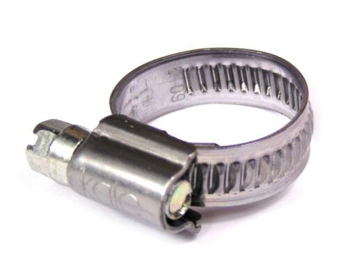 W4 Tubo in Acciaio Inox Clip Fascette TUBO 304ss GIUBILEO TIPO 12-22 mm x 2