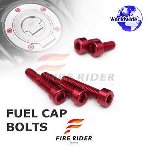 FRW-Red-Fuel-Cap-Bolts-Set-For-Yamaha-FZ1-FAZER-06-16-07-08-09-10-11-12-13-14