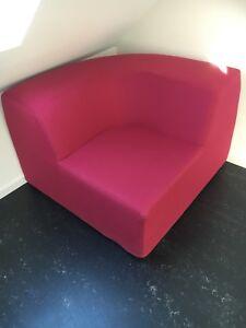 Sofa-Ecke Chill out (Pink) von Wehrfritz, Maße: B 110 x H ...