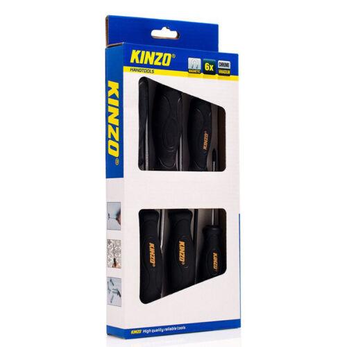 Kinzo Hand Tools 6 pieces screwdriver//screwdriver set