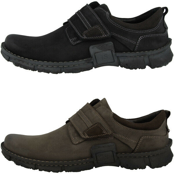 Josef Seibel WilFaible 45 Hommes Chaussures Hommes Basses Loisirs Velcro Chaussures 14145