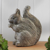 Large Shabby Chic Squirrel Ornament Sculpture