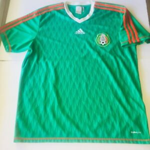 c55b95196 Image is loading ADIDAS-Men-MEXICO-Mexican-National-Football-Soccer-Team-