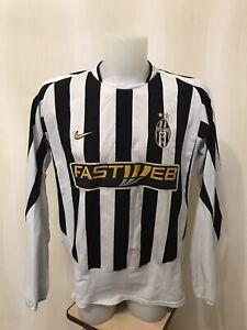 Juventus-2003-2004-Home-Sz-XL-Nike-shirt-jersey-maillot-camiseta-football-soccer