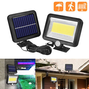 COB-100-LED-Solar-Luz-de-Pared-Impermeable-Sensor-de-Movimiento-Lampara-Exterior