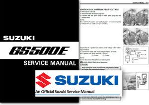 Suzuki Gs 500 E Handbuch Pdf