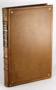 Signed-John-Ruskin-First-Edition-Leather-1849-The-Seven-Lamps-Of-Architecture