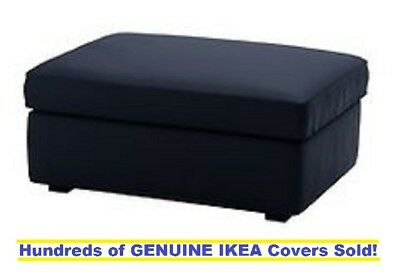 Outstanding Ikea Kivik Footstool With Storage Ottoman Cover Slipcover Dailytribune Chair Design For Home Dailytribuneorg