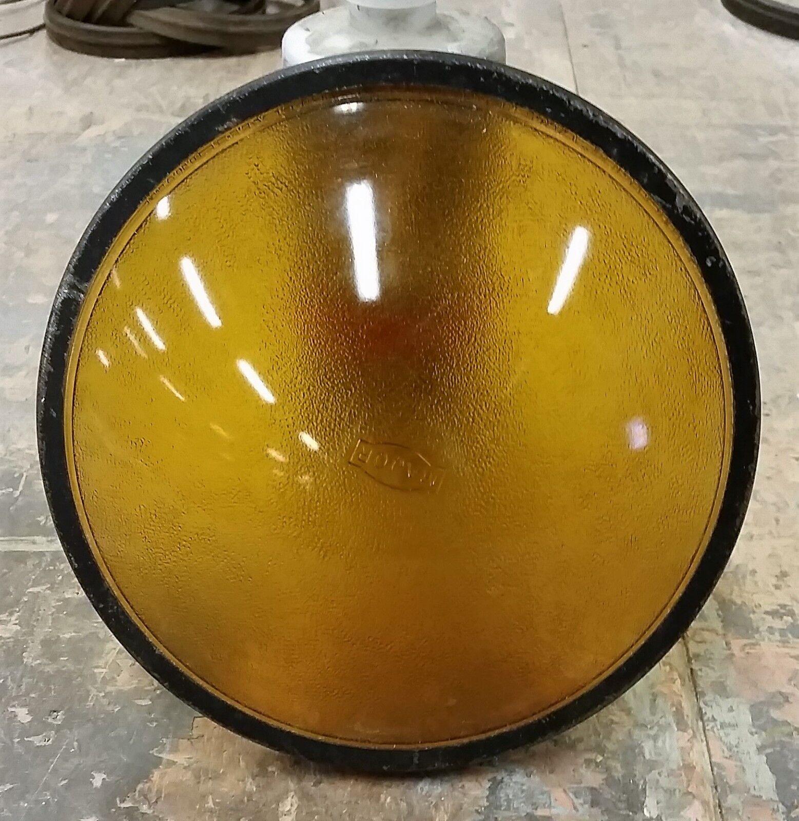 Vintage Stage Lighting Glass Lenses. 10 per Lot. Gelb. 7 1 2 .