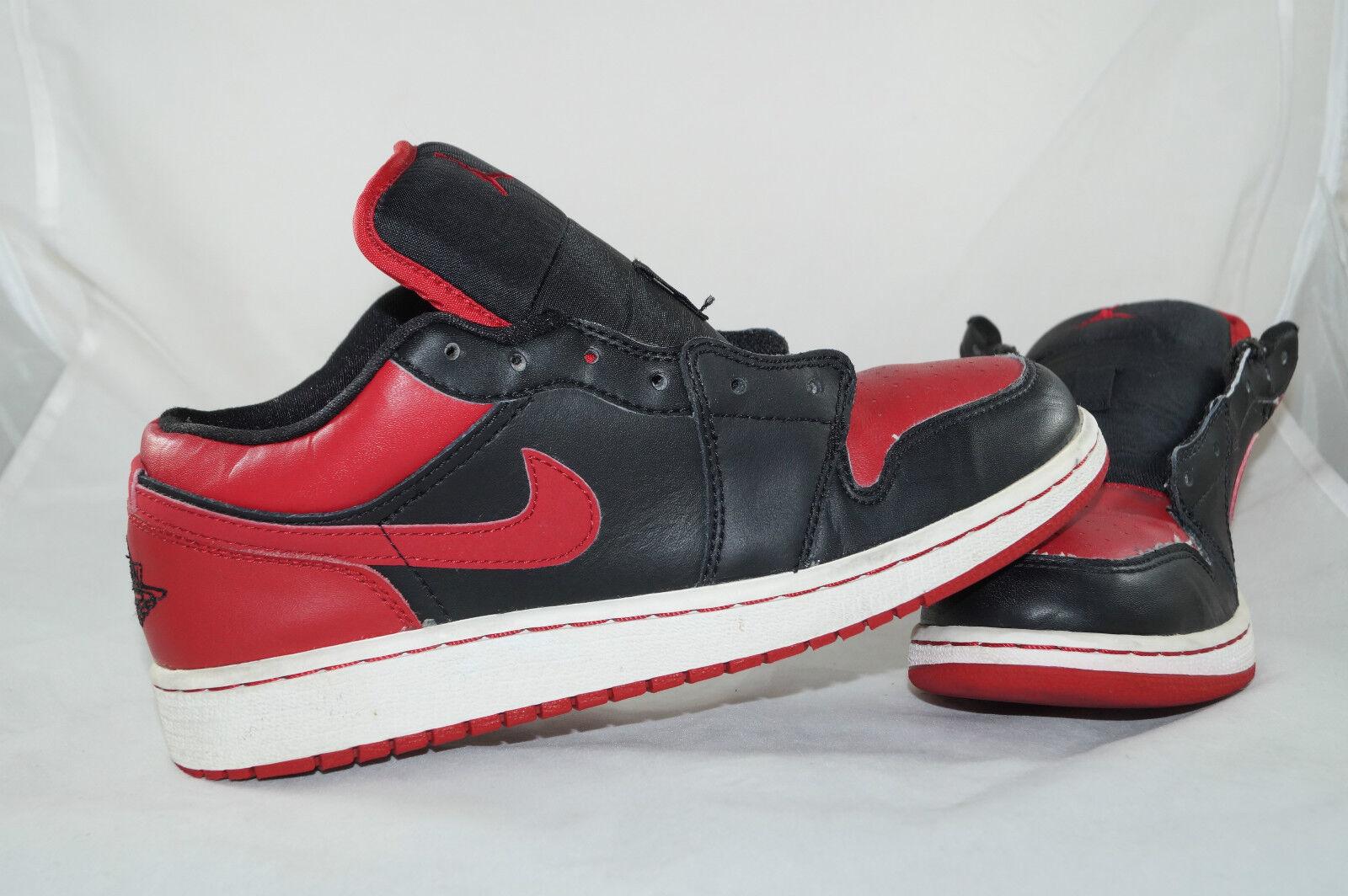 Nike Air Jordan 1 Phat (GS) GR: 38,5 Rouge Rouge Rouge Noir low Basket aa5a45
