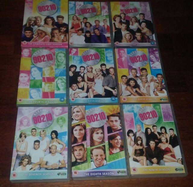 DVD BEVERLY HILLS 90210 STAGIONI DA 1 A 9 IN LINGUA INGLESE REGIONE2