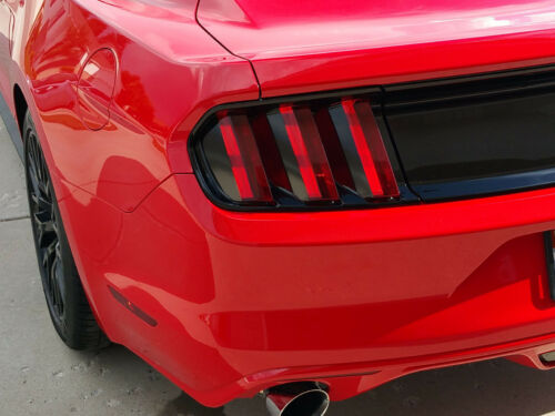 2015 FORD MUSTANG TAIL LIGHT DECALS STICKER VINYL GRAPHICS PARTIAL BLACKOUT 2016