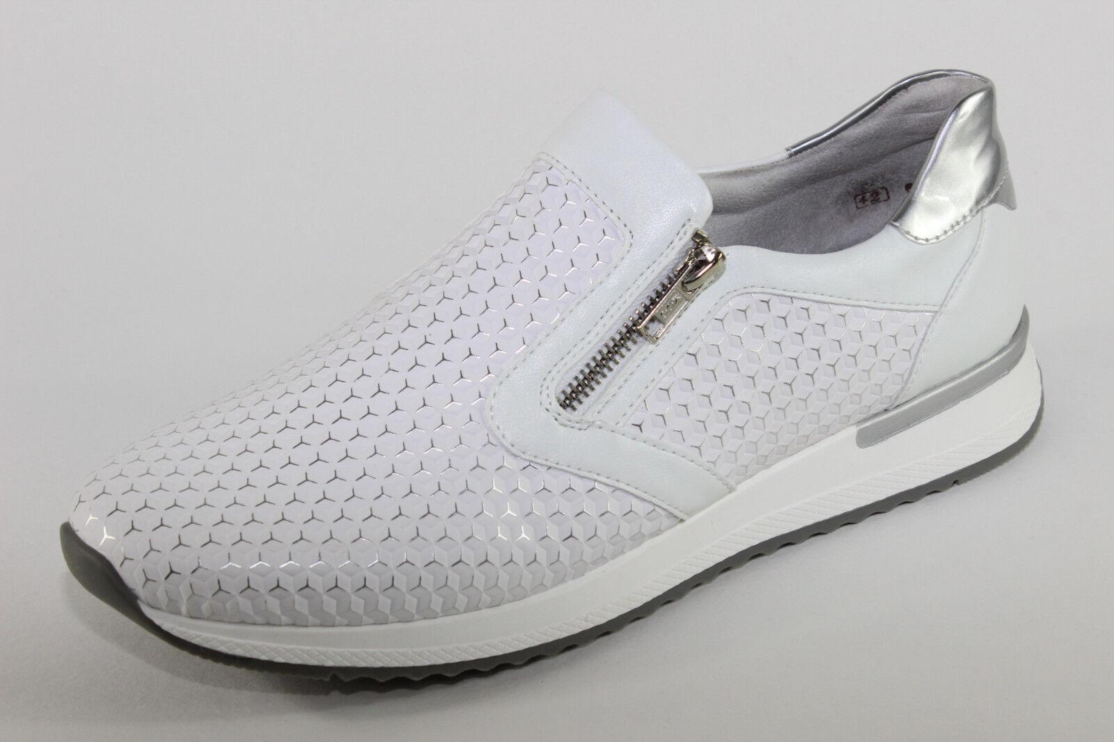 Remonte R7012-80, Sneaker Damenschuhe mit Reißverschluss, 3-D Look, Damenschuhe Sneaker Übergröße 1c289b