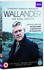 Wallander UK Series 4: The Final Chapter [BBC](DVD)~~Kenneth Branagh~~NEW SEALED