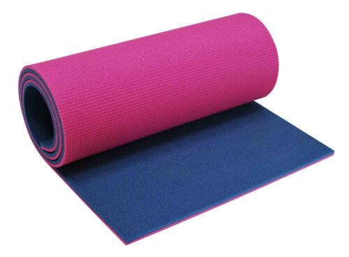 Yate doppelte Schaumstoff Gymnastikmatte Aerobic Yoga Matte 180x50 12mm dick