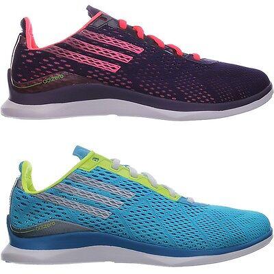 Adidas ADIZERO TR W blau lila ultraleichte Laufschuhe Fitness Studio NEU