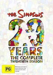 The-Simpsons-Series-Complete-Twentieth-Season-20-New-Oz-DVD-Set-Region-4-R4