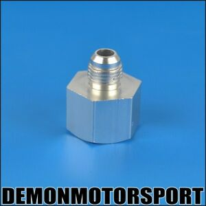 AN6-6-Female-To-AN4-4-Male-Reducer-Adapter-Joiner-Fitting-SILVER