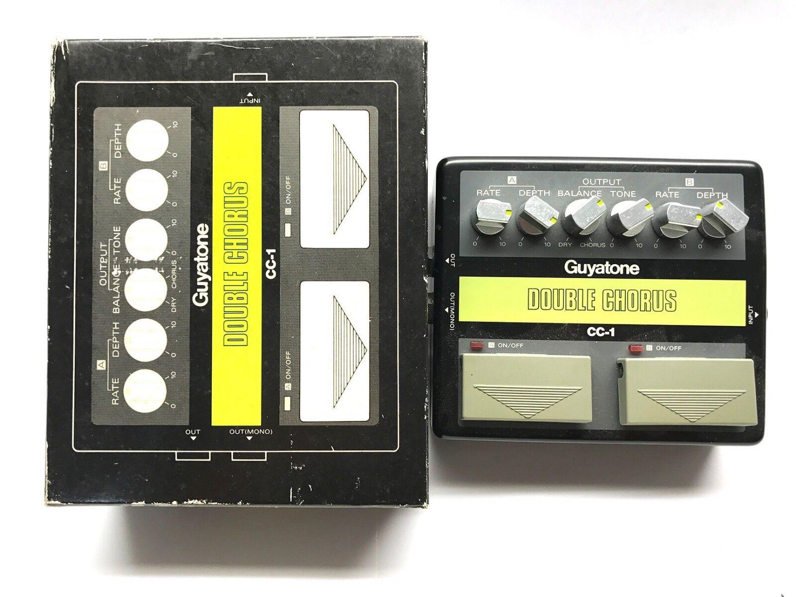 Guyatone CC-1, doble coro, Boxeo Boxeo Boxeo original, efecto Vintage Mij década de 1980,  Precio al por mayor y calidad confiable.
