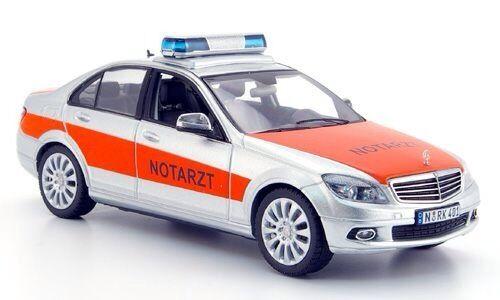 Schuco 2008 Mercedes Clase C NOTARZT 1 43 Rara