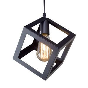 Image Is Loading Lnc Square Pendant Lighting Ceiling Lights Hanging Lamp
