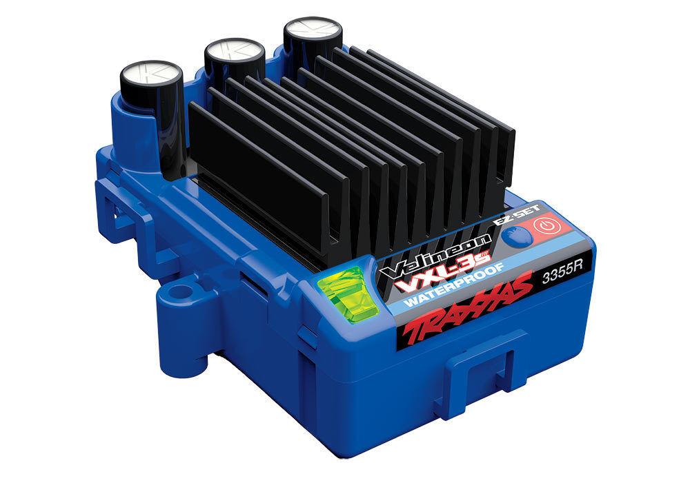 TRAXXAS 3355R VXL-3S Regulador Sin escobillas Waterproof