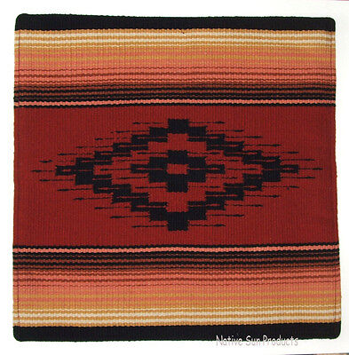 """Colorful Pillow Cover Southwestern Lodge or Home Decor 18x18/"""" San Carlos #01"""
