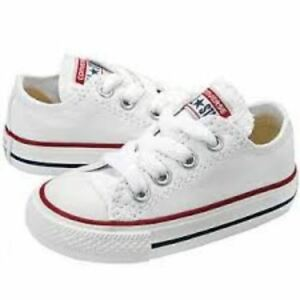 b2ced2231f5 Converse Chuck Taylor All Star Ox Optical White Infant/Toddler Shoes ...