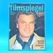 DDR Filmspiegel 12/1989 Otto Waalkes Michele Placido Karin Gregorek J. Gilbert H