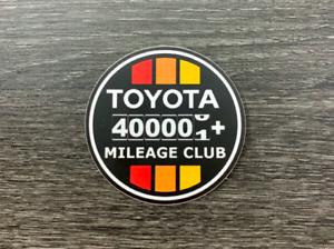 Toyota Sticker Decal 400k Mile Club Tundra Tacoma 4x4 4runner FJ Cruiser4WD 4X4
