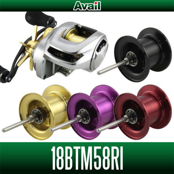Avail SHIMANO Spool 18BTM58RI for Bantam 18 Bantam for MGL Bass Fishing CHAMPAGNE GOLD 4ce45e