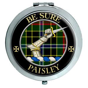 Paisley Schottische Clan Kompakter Spiegel