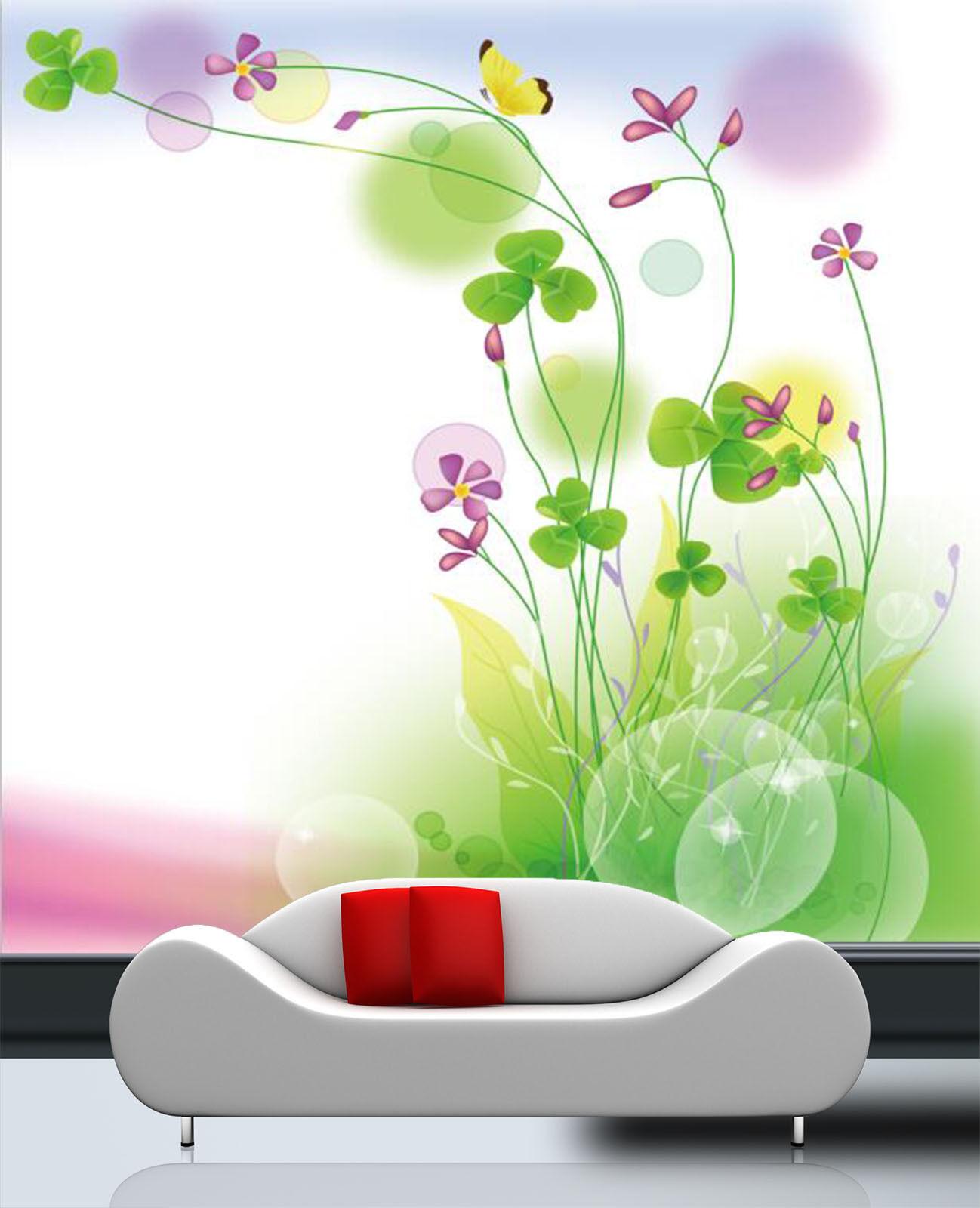3D Grne Bltter 332 Fototapeten Wandbild Fototapete Bild Tapete Familie Kinder