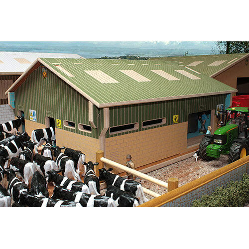 BRUSHWOOD BT2000 Herringbone Milking Parlour - 1 32 Farm Toys