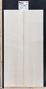 Tonewood Fichte Spruce Bastelholz Decke 21,5 cm  Aufleimer Guitar Tonholz Topset