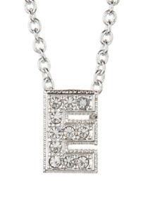 Nadri pave e initial pendant necklace 0601 664293153777 ebay image is loading nadri pave 034 e 034 initial pendant necklace aloadofball Choice Image